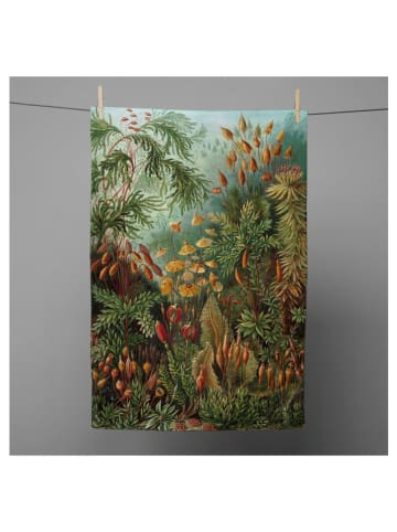 "Tierra Bella Geschirrtuch ""Deep Forest"" in Grün - (L)70 x (B)50 cm"