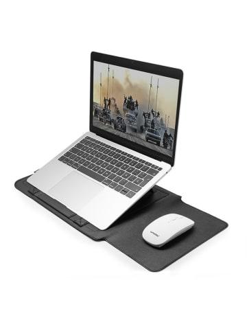 Unotec Etui w kolorze czarnym na laptopa z akcesoriami