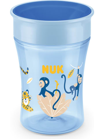 "NUK Drinkleerbeker ""Magic Cup"" lichtblauw - 230 ml"