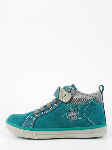 Lamino Leren sneakers Petrol