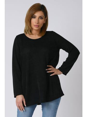 """Plus Size Company Sweter """"Suzy"""" w kolorze czarnym"""