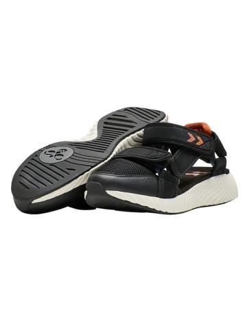 """Hummel Sandały trekkingowe """"Breaker"""" w kolorze czarnym"""
