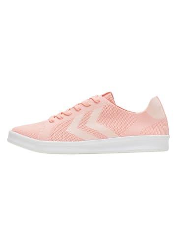 """Hummel Sneakersy """"Busan Knit"""" w kolorze jasnoróżowym"""