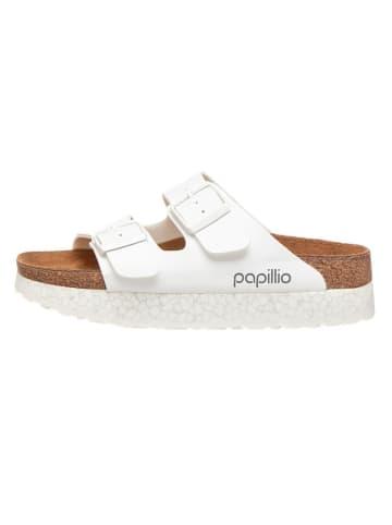 "Papillio Slippers ""Arizona"" wit - wijdte S"