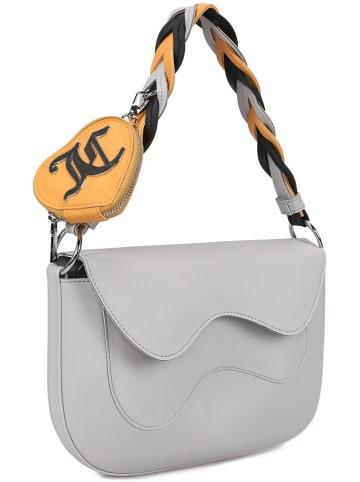 Juicy Couture Torebka w kolorze jasnoszarym - 30 x 20 x 2 cm