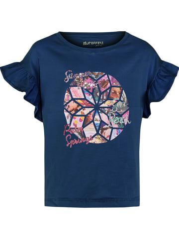 """Blue Effect Koszulka """"Salty Vibes"""" w kolorze granatowym"""