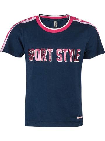 "Blue Effect Shirt ""Sport Style"" donkerblauw"