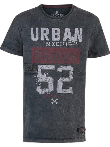 """Blue Effect Shirt """"URBAN"""" zwart"""