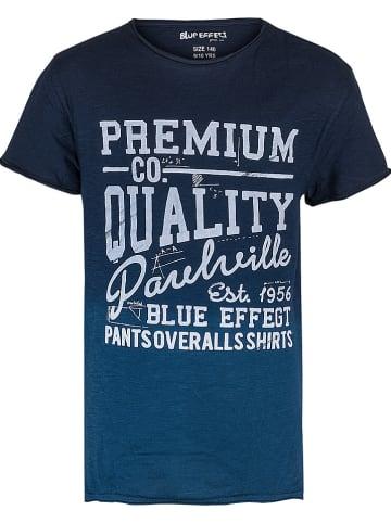 """Blue Effect Koszulka """"Premium Quality"""" w kolorze granatowym"""