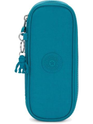 """Kipling Etui """"30 Pens"""" turquoise - (B)22 x (H)9,5 x (D)5,5 cm"""