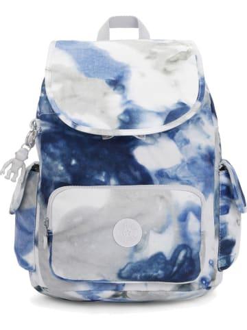 "Kipling Rugzak ""City Pack S"" blauw/grijs/wit - (B)27 x (H)33,5 x (D)19 cm"