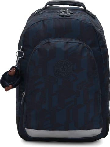 """Kipling Rugzak """"Classroom"""" donkerblauw - (B)28,5 x (H)39 x (D)14 cm"""