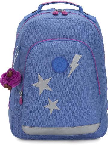 """Kipling Rugzak """"Classroom S"""" blauw - (B)25,5 x (H)39 x (D)14 cm"""