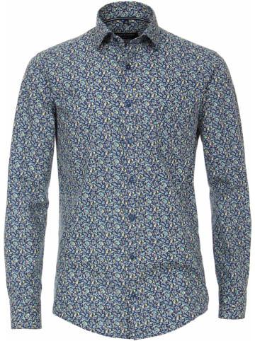 CASAMODA Koszula - Comfort fit - w kolorze granatowym ze wzorem