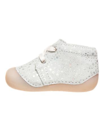 Richter Shoes Leren loopleerschoenen wit