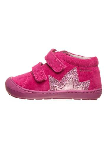 Richter Shoes Leren loopleerschoenen roze