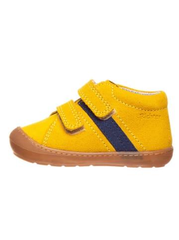 Richter Shoes Leren loopleerschoenen geel