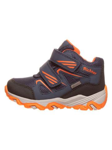 Richter Shoes Sneakers in Dunkelblau/ Orange