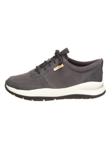 """Timberland Leren sneakers """"Boroughs Project Leather Oxford"""" grijs"""