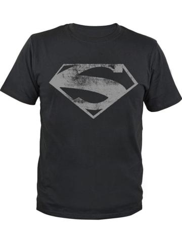 "United Labels Koszulka ""Superman"" w kolorze czarnym"