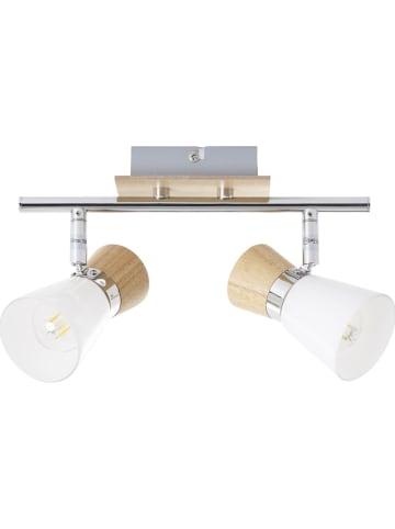 Brilliant Lampa sufitowa w kolorze brązowo-srebrnym - 27,5 x 9 cm