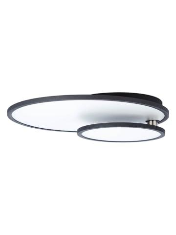 """Brilliant LED-Deckenleuchte """"Bility"""" in Schwarz/ Weiß - (B)60,5 x (T)45 cm"""