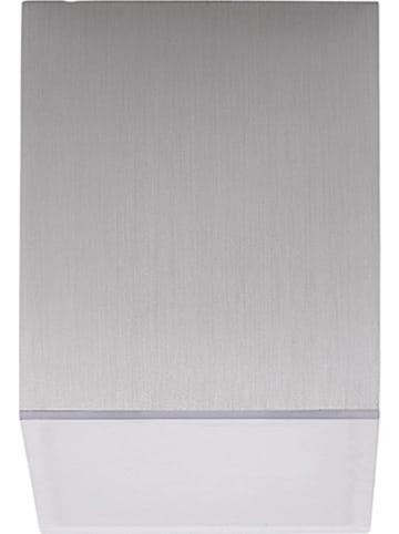 "Brilliant Sufitowa lampa LED ""Gillian"" w kolorze srebrnym - 6,5 x 6,5 cm"