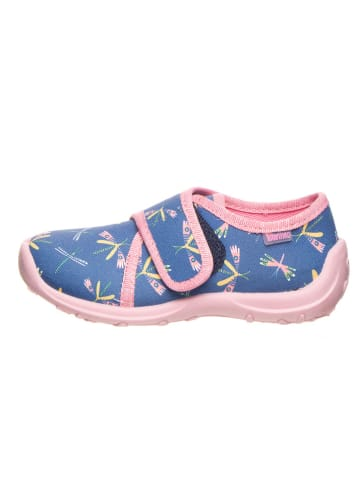 Lamino Pantoffels blauw