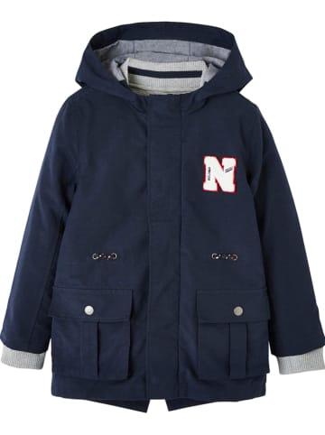 Vertbaudet 3-in-1 functionele jas donkerblauw/grijs