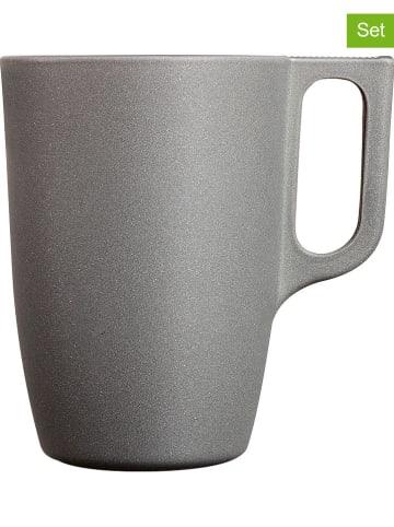 """Luminarc Kubki (6 szt.) """"Loft stony"""" w kolorze szarym do kawy - 320 ml"""