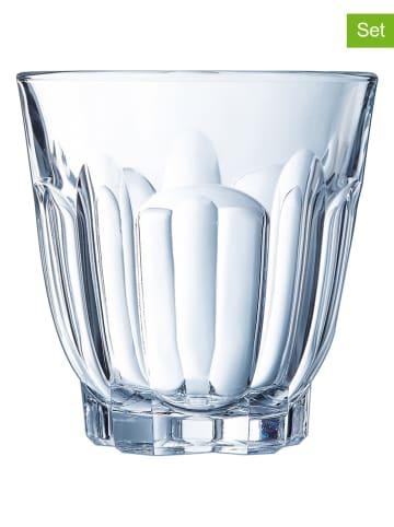 """Luminarc 6-delige set: glazen """"Charlotte"""" - 240 ml"""