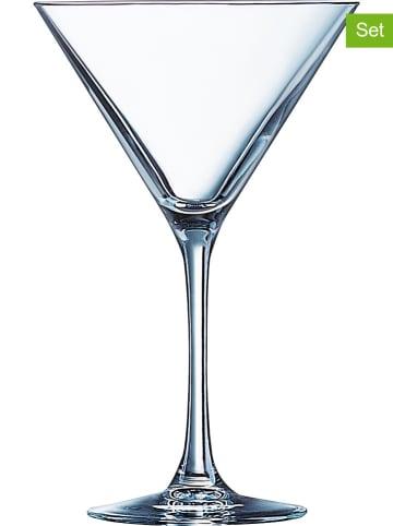 "Luminarc 4-delige set: cocktailglazen ""Tasting time"" - 300 ml"
