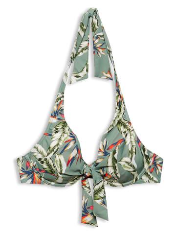 """ESPRIT Biustonosz-bikini """"Panama"""" w kolorze zielonym"""