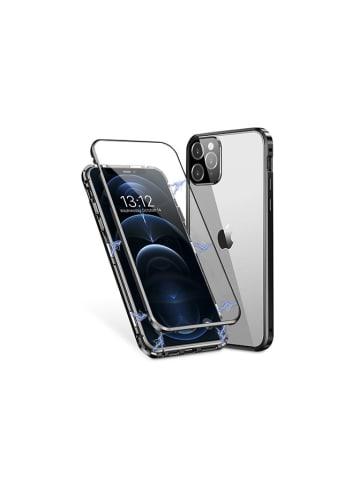 Unotec Full body case voor iPhone 12 Pro Max zwart