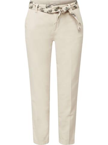 ESPRIT Spodnie chino w kolorze beżowym