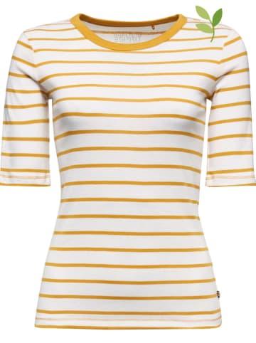ESPRIT Shirt wit/geel