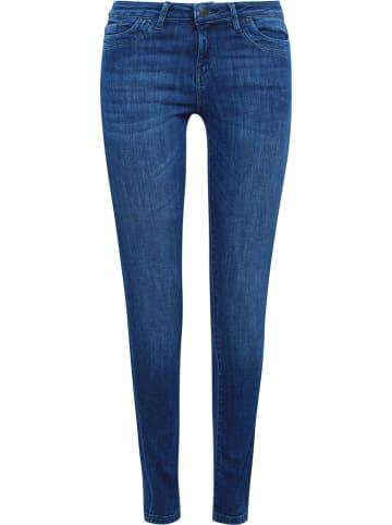 ESPRIT Dżinsy - Skinny fit - w kolorze niebieskim