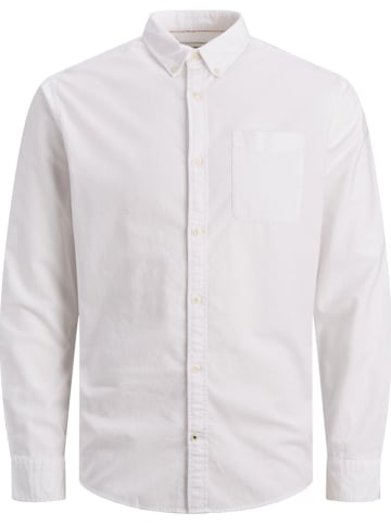 "Jack & Jones Blouse ""Oxford"" - slim fit - wit"