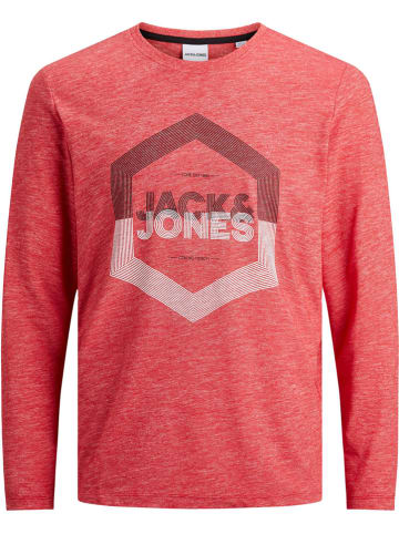"Jack & Jones Longsleeve ""JJDELIGHT"" - regular fit - rood"