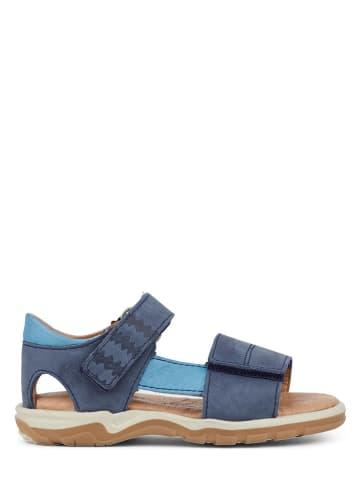 """Racoon Leren sandalen """"Anur"""" blauw"""