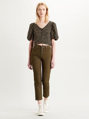 Levi´s Spodnie w kolorze ciemnozielonym