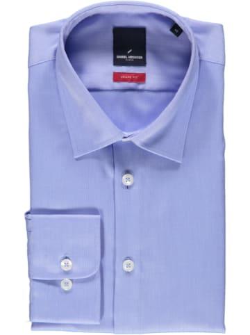 Daniel Hechter Hemd - Shape fit - in Blau