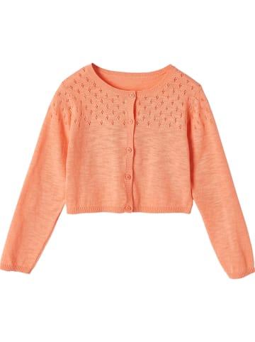 Vertbaudet Kardigan w kolorze pomarańczowym