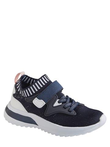 Vertbaudet Sneakersy w kolorze granatowo-białym