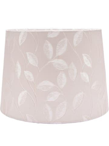 """PR Home Lampenkap """"Sofia Linen"""" rosé/ wit - (H)21 x Ø 30 cm"""