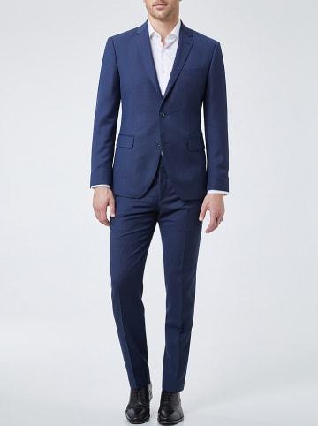 Pierre Cardin Wollen pak donkerblauw