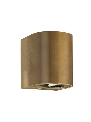 Nordlux LED-wandlamp bronskleurig - (B)8,7 x (H)10,4 cm
