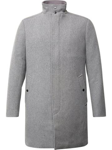 ESPRIT Wollen mantel grijs