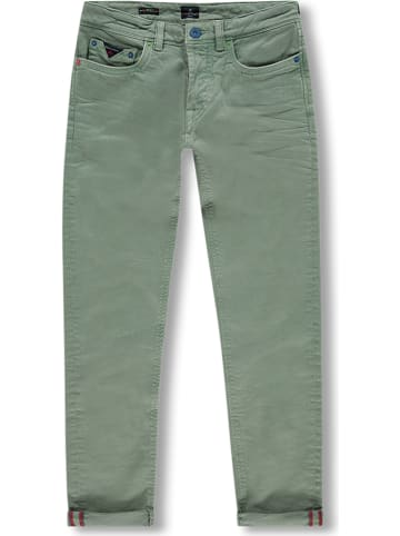 """NEW ZEALAND AUCKLAND Jeans '""""Hector""""' - tapered fit - groen"""