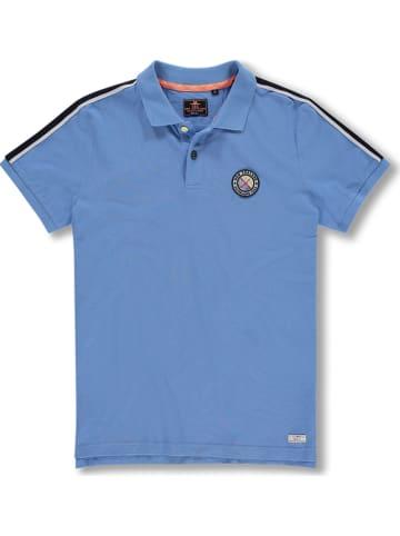 "NEW ZEALAND AUCKLAND Poloshirt ""Waiho"" blauw"